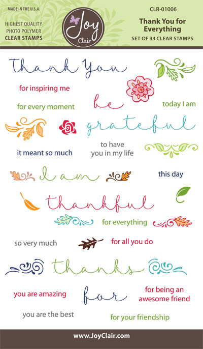 CLR-01006_Thank_You_for_ Everything_Clear_Stamps