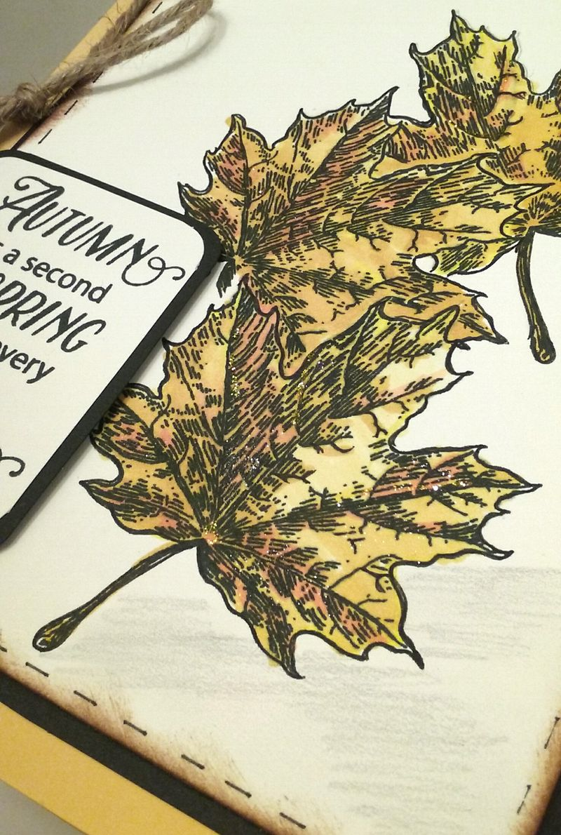 Joy Clair Stamp Hello Autumn by Alicia Fa Hill