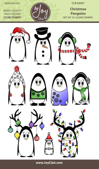 JC CLR-02027 CHRISTMAS PENGUINS