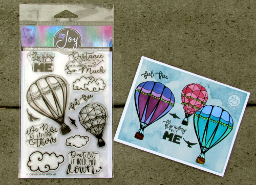 Balloon Card with stamp set