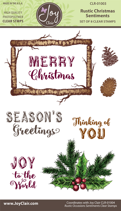 JC_CR-01003_Rustic_Christmas_Sentiments_Clear_Stamps