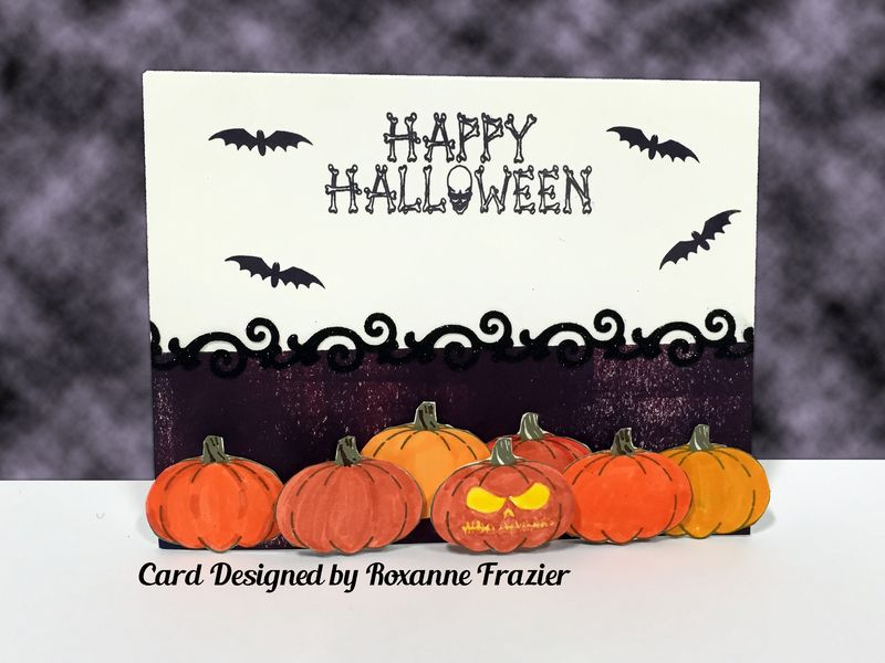 Roxane f _halloween card