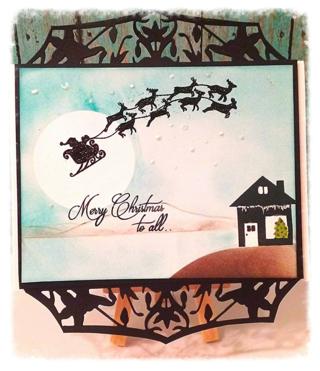 Joy clair Santa's comng -Alicia Falu Hill