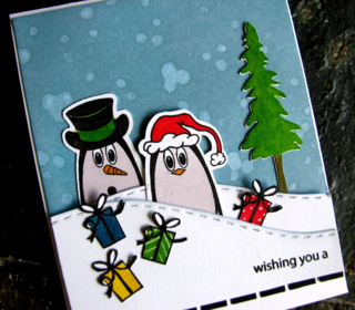Jc_chritsmas penguins_flowerdisco