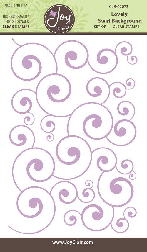 Lovely Swirl background backer -1