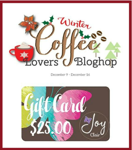 Coffee gift card