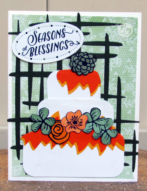 Joy Clair World Cardmaking Day Card