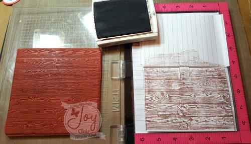 3 stamp wood w