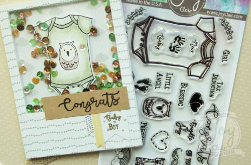 Joy Clair New Baby Stamp Set