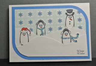 Joyclair_christmas penguins_Dawn Bennett