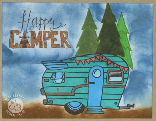 HAPPY CAMPER CARD 2