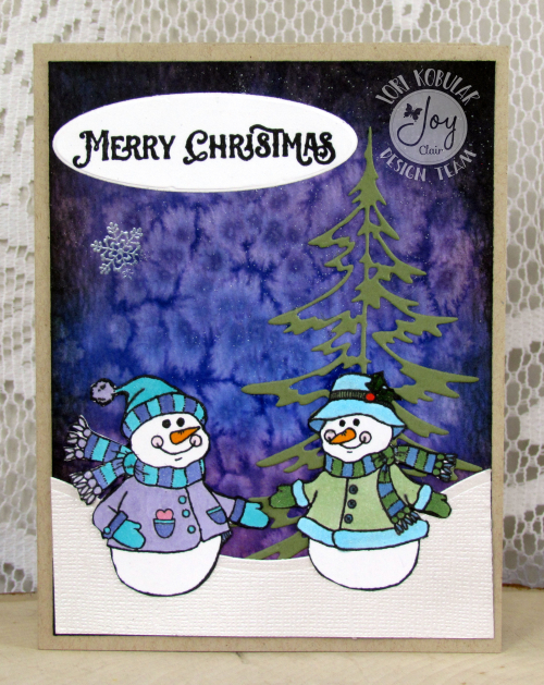 Snowman Card 2 for Christmas in July