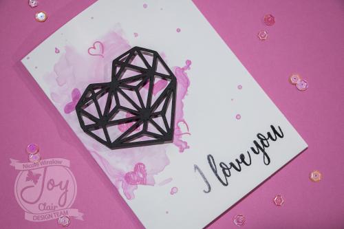 Joy Clair Love Languages Stamp Card