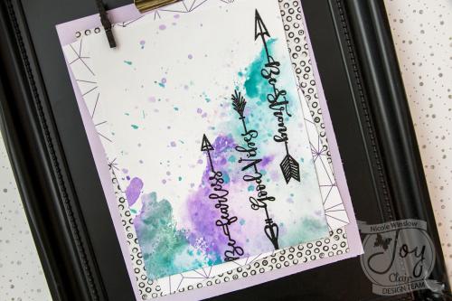 Joy Clair Inspirational Arrows Watercolor
