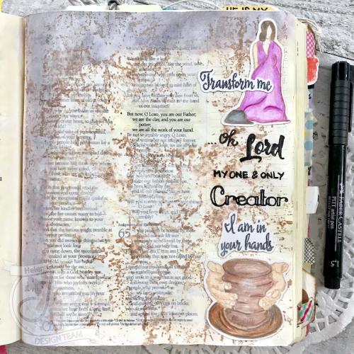JoyClair-ThePotter-BibleJournaling-HelenGullett