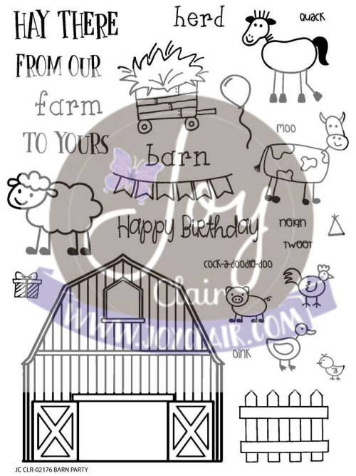 Barn Party Stamp set