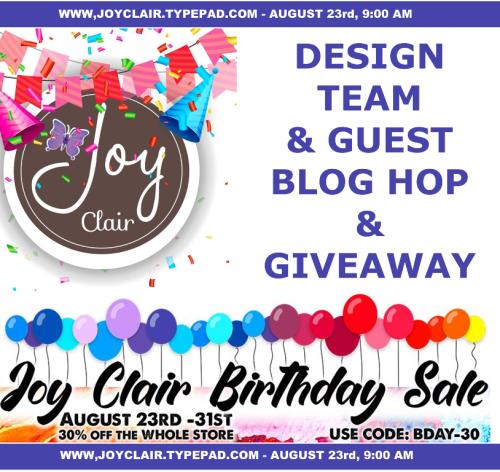 Designers Blog Hop Anniversary