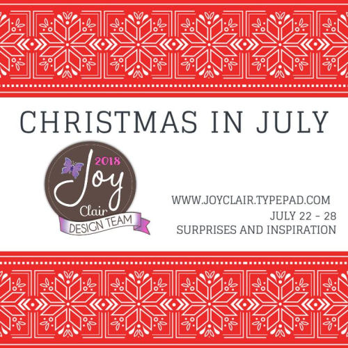 Joy Clair Christmas in July