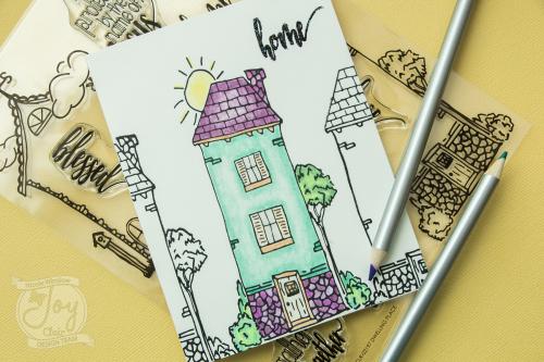 Joy Clair dwelling place stamp