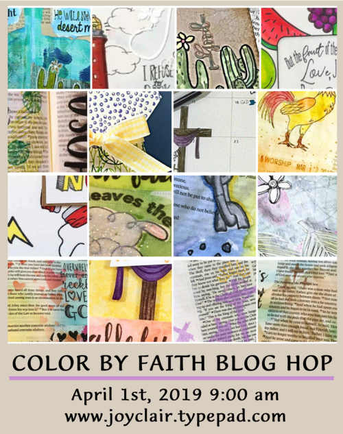 Color by Faith Blog Hop