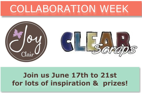 Clear scraps collaboration