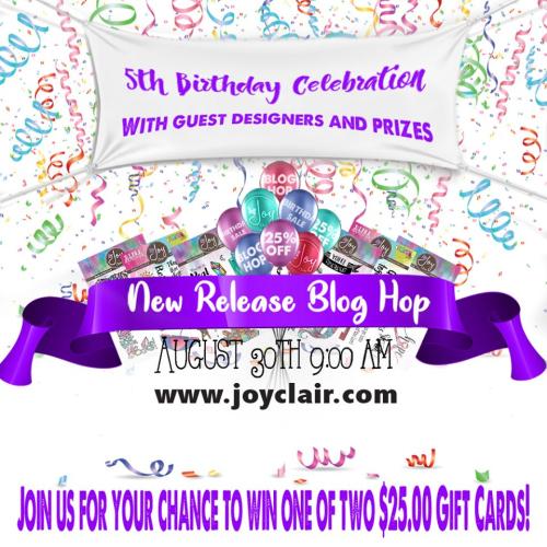 Banner Anniversary Joy Clair